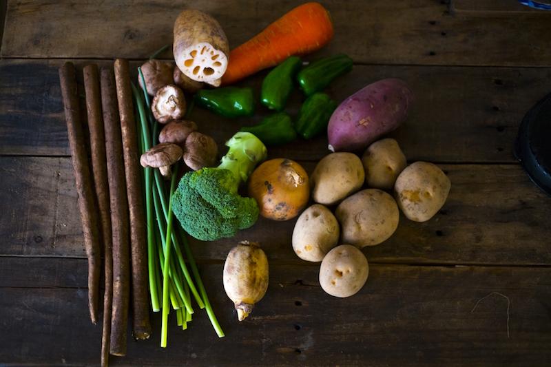 ごぼうは太る野菜?